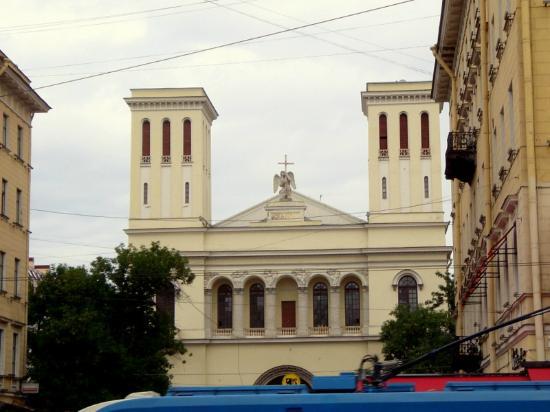 Lutheran Church of St. Peter: La iglesia luterana.