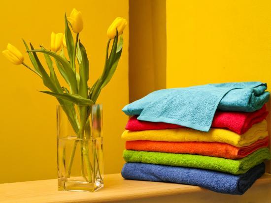 Stella Hostel: Всегда чистое белье
