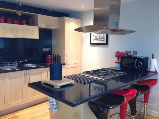 93a Grey Street Apartments: Lovely Kitchen