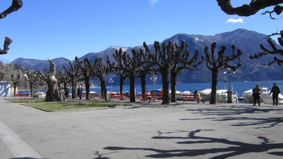 Hotel Colorado Lugano: Cidade de Lugano