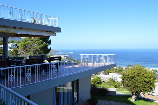 African Dreams Guest House: uitzicht vanaf de kamer