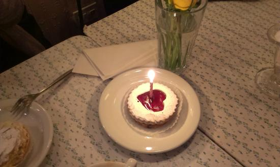 Maison Bertaux Free Birthday Tart This Sign Is Over 50 Years Old