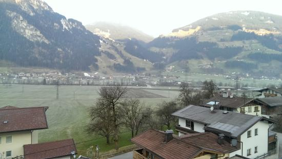 Hotel Eckartauerhof: View from our room