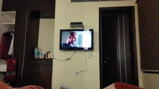 Hotel SilverStone: Blick vom Bett