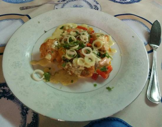 Stef's table: Monkfish medallions