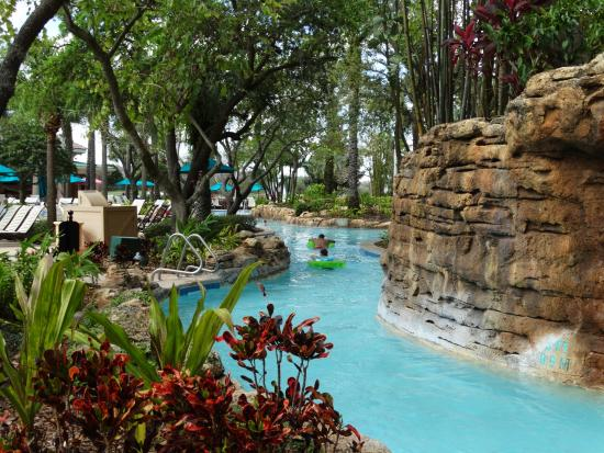 Relaxing lazy river picture of jw marriott orlando for Pool show orlando 2015