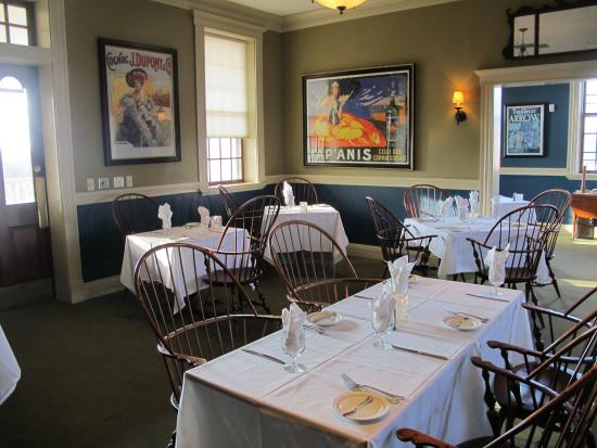 The Delafield Hotel : great restaurant! chef excellent!