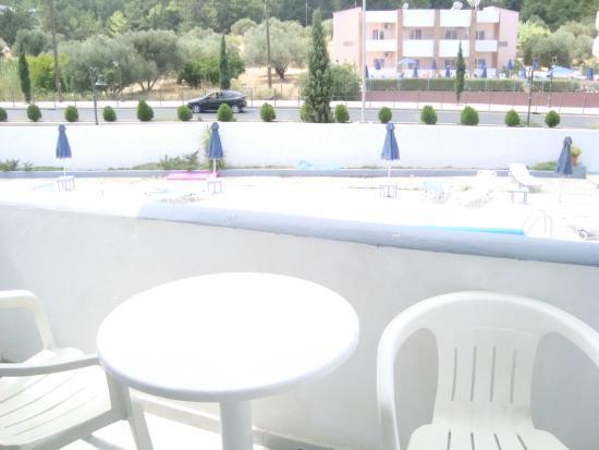 Evi Hotel Rhodes: Balcony