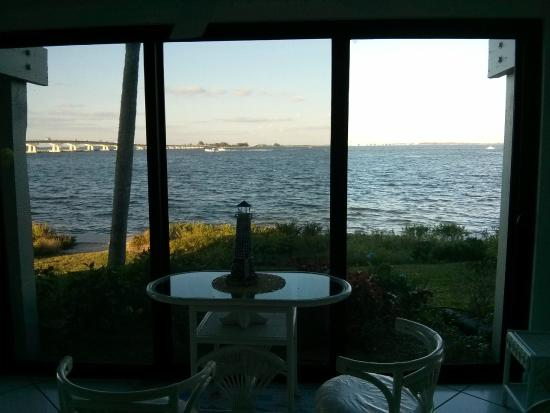 Mariner Pointe: View from the lanai