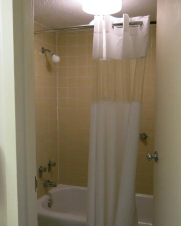 Cabot Lodge: Shower/Tub