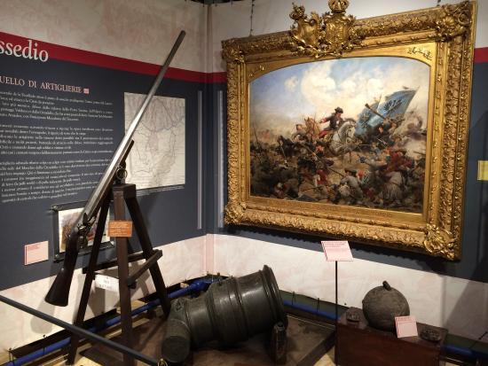 Museo Pietro Micca : Sala piano superiore