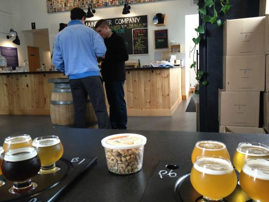 Maine Beer Company: maine beer co