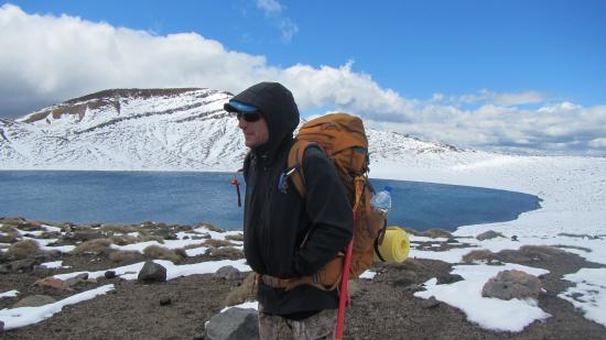 Walking Legends - Tongariro Crossing Guided Day Walk: Our amazing guide, Rainier!