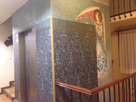 El Jardin de la Abadia: Detalle escalera