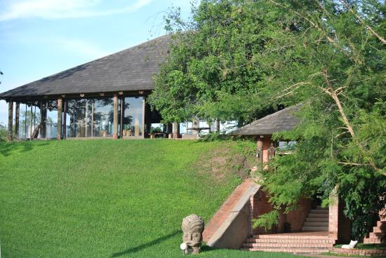 Chaminuka Lodge: Main lodge