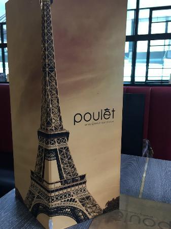 Poulet: menu