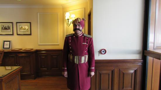 The Oberoi Cecil Shimla: Door keeper & Door keeper - Picture of The Oberoi Cecil Shimla Shimla ... Pezcame.Com