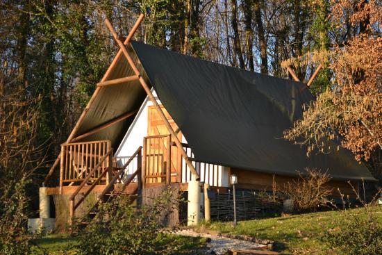 L'Abri Des Chenes: Tente Samuel de Champlain