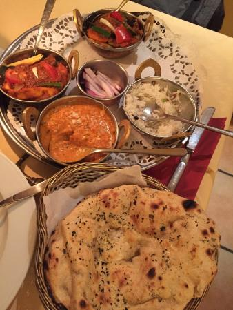 Haveli: Thali on my second visit