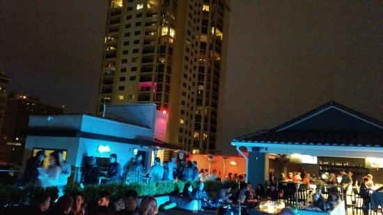 View toward the bar area