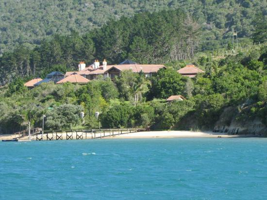 Knysna, Sydafrika: Remote palaces on the West side