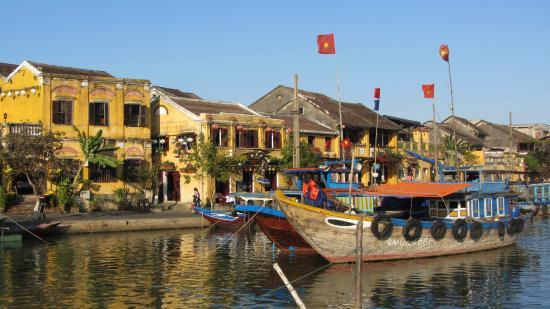 Hoi An Ancient Town : Blick auf die tolle Stadt