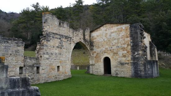 Abárzuza, España: Ruinas del antiguo monasterio
