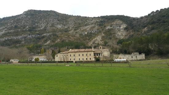 Abárzuza, España: Vista del monasterio