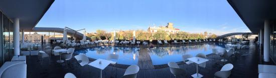 Attico picture of radisson blu es hotel roma rome tripadvisor
