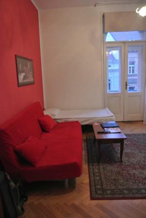 Hotel Suite Home Prague: Living Room