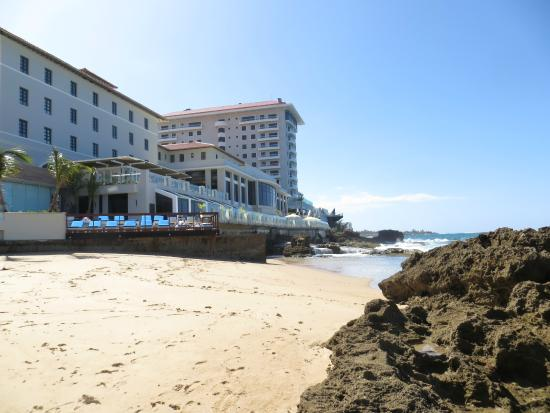 Condado Vanderbilt Hotel View From Beach