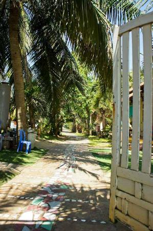 Nhat Quang Family: The gate from the beach