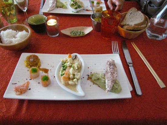 La Malle aux Epices : La 2ème assiette du menu découverte