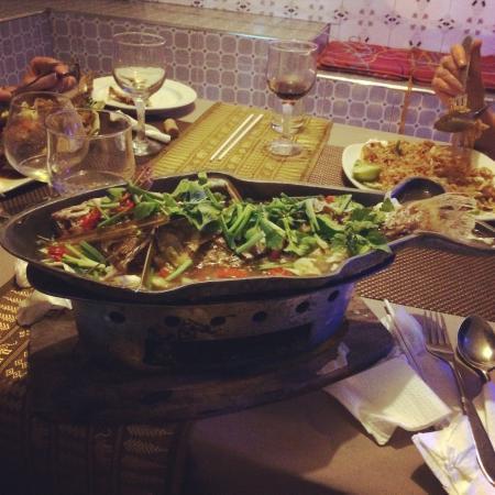 Zion Thai Restaurant: Steamed snapper