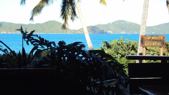 Shipwreck Landing: View from restaraunt