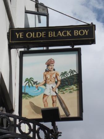 Ye Olde Black Boy
