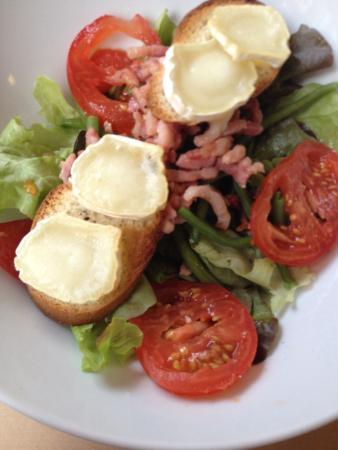 Le Costa : Salade de chèvre chaud