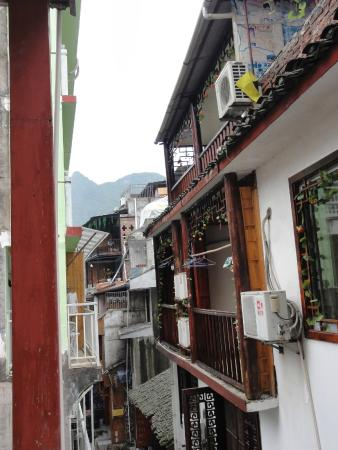 Bamboo House: вид с балкона