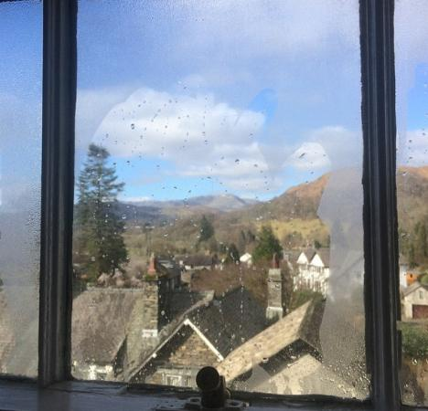 Ambleside Backpackers : Room with a view!
