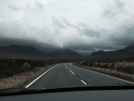 Gleann An Ronnaich: Wonderful drives and Vistas. Isle of Skye
