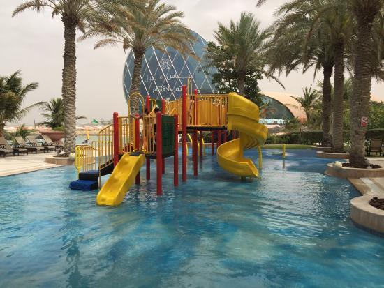 Kids Pool Area Picture Of Al Raha Beach Hotel Abu Dhabi Tripadvisor