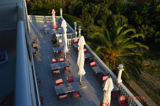 Hotel Villa Julija  Kralja : taras