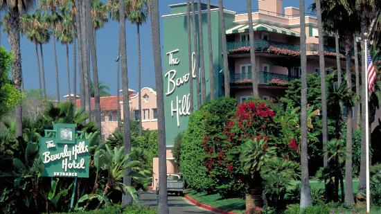 Beverly Hills Hotel Beverly Hills famous landmark Picture of