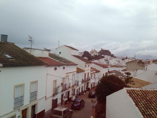 Hotel Sierra y Cal: Vistas desde la ventana