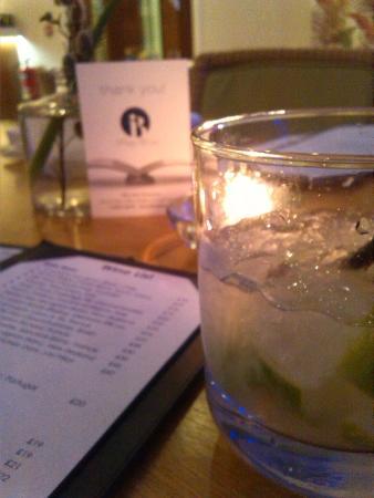 Iffley Blue: A la llegada al rte. una bebida refrescante complementaria