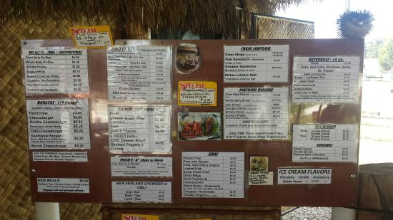 The Dog House and More: Menu