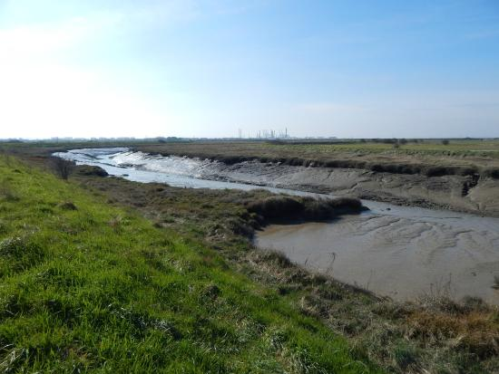 Canvey Island, UK: Benfleet Creek