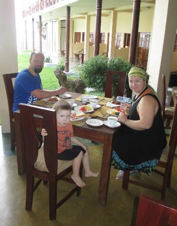 Taprospa Tissa : breakfast