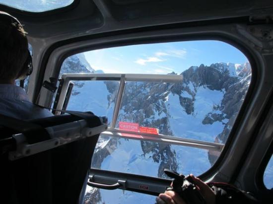 Alpine Adventure Centre Tours: View through the window