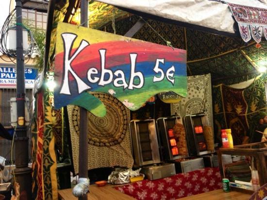 Guaro, Spanje: Festival Luna Mora - Market Stall